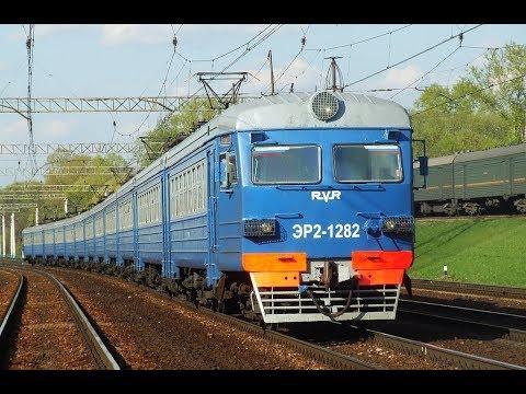 Trainz 12: ЭР2-1282 Рейс: Санкт-Петербург (Ладожский вокзал) - Пупышево.