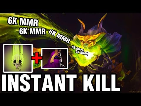 INSTANT KILL - 33 Plays Pugna WITH VEIL OF DISCORD - Dota 2