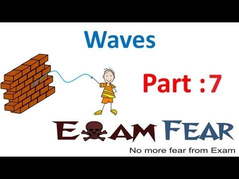 Physics Waves part 7 (Phase of Waves - Part 1) CBSE class 11
