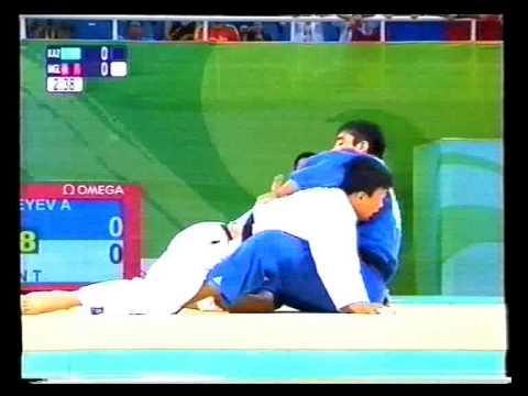 Beijing 2008. Judo. -100kg. Final. Tuvshinbayar (MGL) v Zhitkeyev (KAZ). Part I