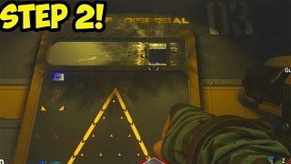 "Advanced Warfare EXO ZOMBIES ""CARRIER"" EASTER EGG - SECRET CODE! - STEP 2 TUTORIAL!"