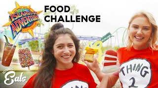 Ultimate Universal Food Challenge: Trying All Of The Islands Of Adventure Treats ft. Julia Tries