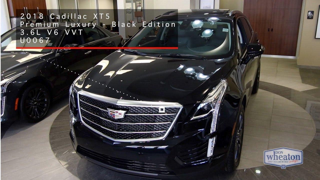 2018 Cadillac XT5 Black Edition | Walkaround - YouTube