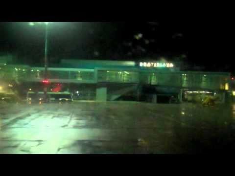 Landing in Bratislava Airport