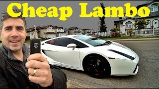 Is The Lamborghini Gallardo The Cheapest Supercar?