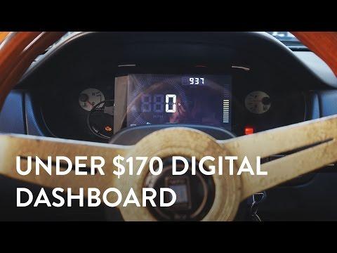Under $170 Digital Dash!