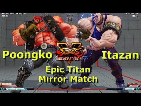 SFV AE - Poongko VS Itazan | Epic Abigail Mirror Match