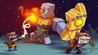 infinity war movie guardians of the galaxy killed minecraft avengers