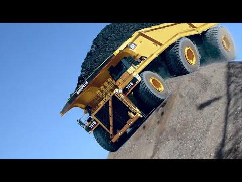 10 Extreme Dangerous Idiots Huge Dump Truck Operator Skill, Biggest Heavy Equipment Machines Working