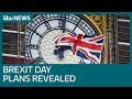 Countdown Clock On Number 10 Downing Street To Celebrate Brexit Day | ITV News