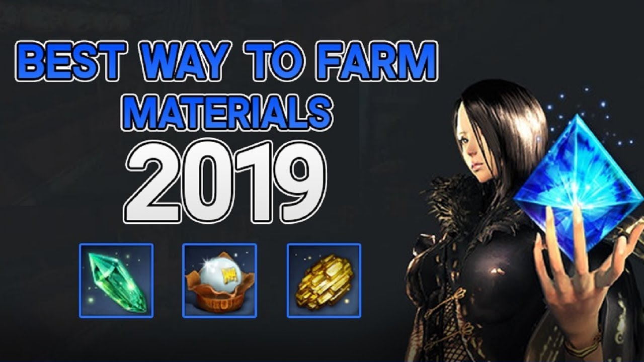 Blade and Soul - Best Ways To Get Materials 2019!