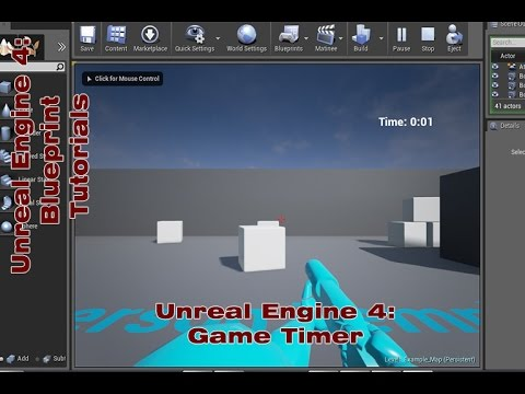 Ue4 game timer blueprint tutorial by devin sherry youtube ue4 game timer blueprint tutorial by devin sherry malvernweather Image collections