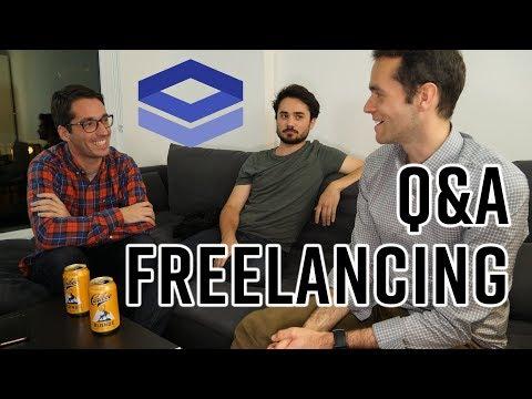 Freelancing Q&A Interview - Web Developer, UX Designer