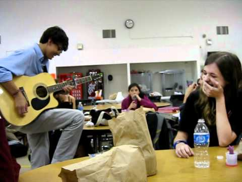 Best Prom Proposal Song Ever. Jake Hinton.