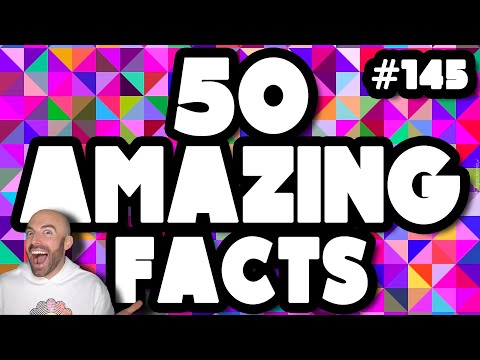 50 AMAZING Facts to Blow Your Mind! #145