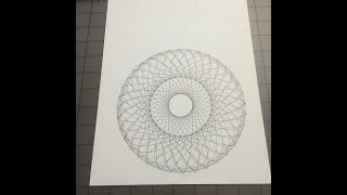 Scrappydew Live - 26 March 2015 Creating Spirograph In Scal 4