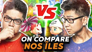 ON COMPARE NOS ÎLES ! - ANIMAL CROSSING NEW HORIZONS
