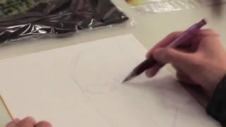 Isayama Hajime-Sensei drawing  Colossal Titan (Shingeki No Kyojin) (not sped up) [attack on Titan]