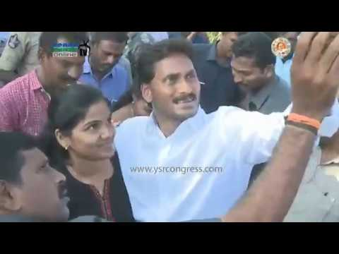 YS Jagan Prajasankalpayatra starts from Kuppambaduru in Chittoor District on 61st Day - 13th Jan 18