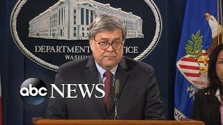 AG Barr addresses unrest