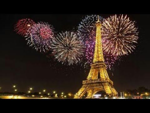 happy new year 2018 eiffel paris