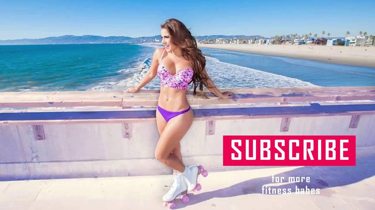 Andrea Rincon Sexy andrea rincon ab, leg & butt workouts - youtube