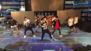 Zeus Collins Versace on the Floor rehearsal @ its showtime