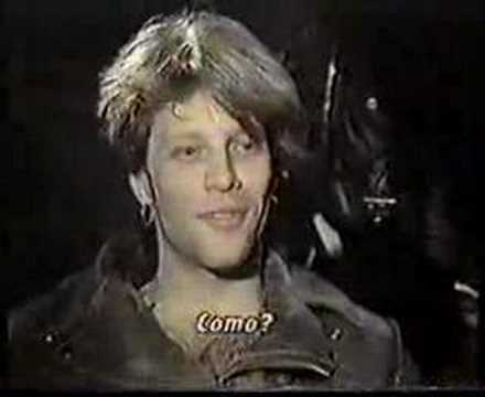 Jon Bon Jovi interview 1993(part 1)