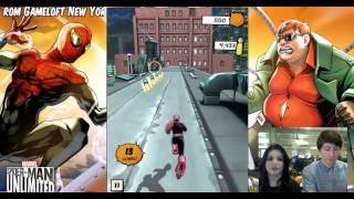 Spider-Man Unlimited Gameloft Livestream 20.03.2015
