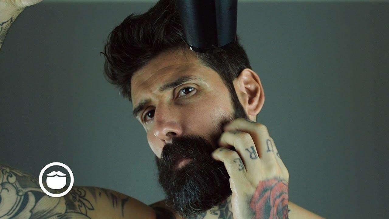 How I Remove My Beard Curls | Carlos Costa