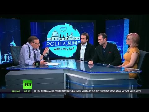 Inside look at RT's 'outsider views': Watching the Hawks  and Redacted tonight crews