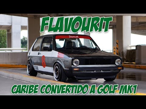 Flavourit, Volkswagen Caribe 82 convertido a un Golf Mk1