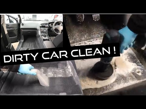 Cleaning a really dirty customer car! Peugeot 3008