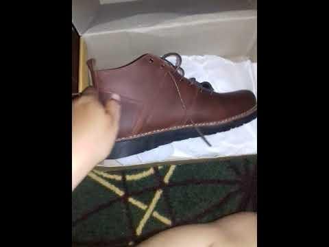 Unboxing Otiv Zamora Boots Vintage brown