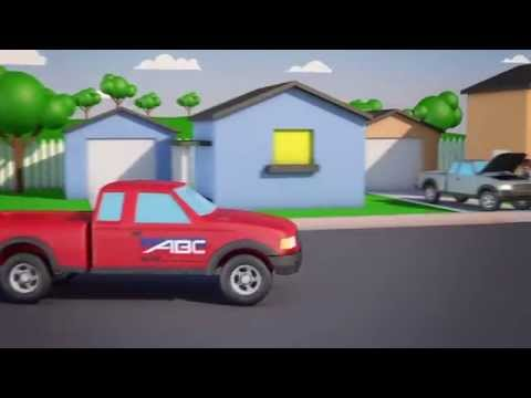 ABC Auto Little Red Truck
