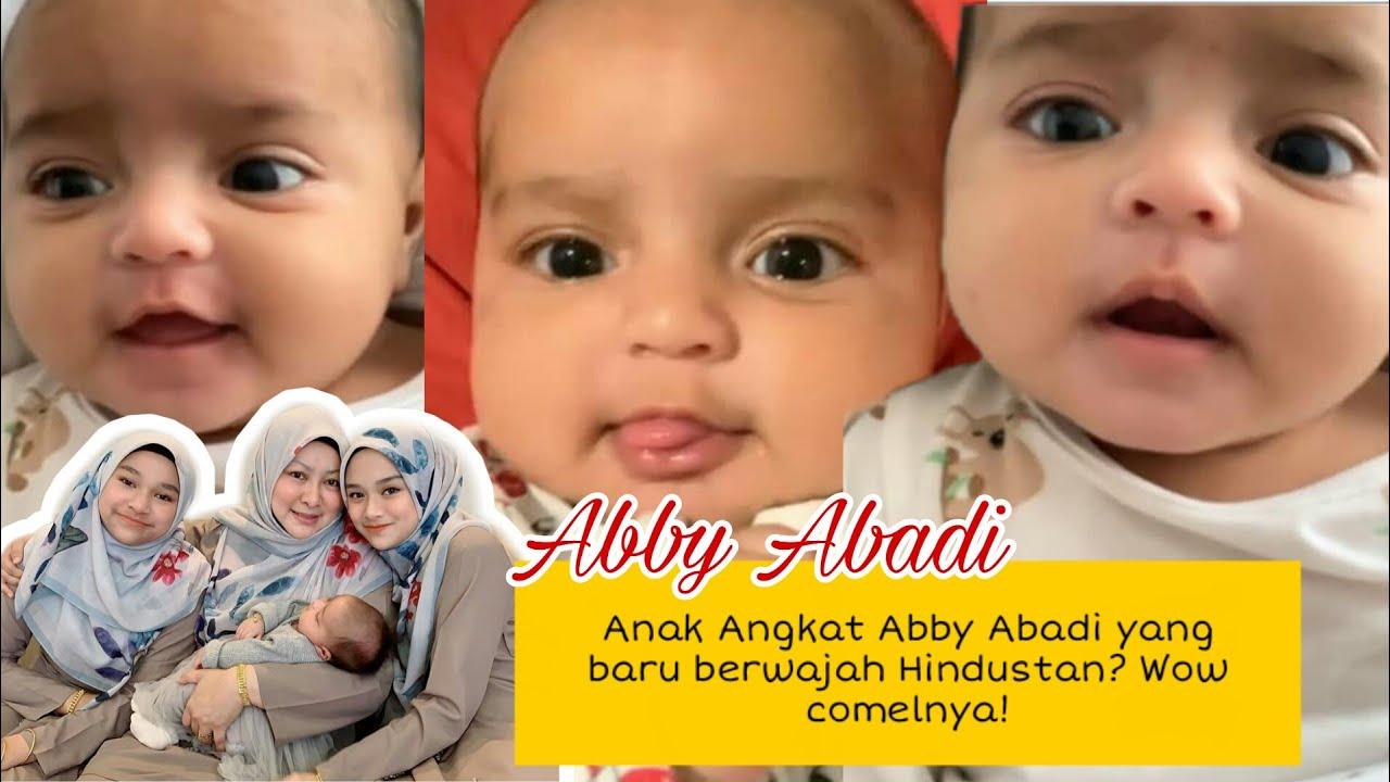 Anak angkat Abby Abadi yang baru berwajah Hindustan? Comel sangat-sangat!