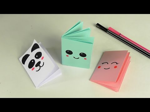 DIY Kawaii БЛОКНОТИК
