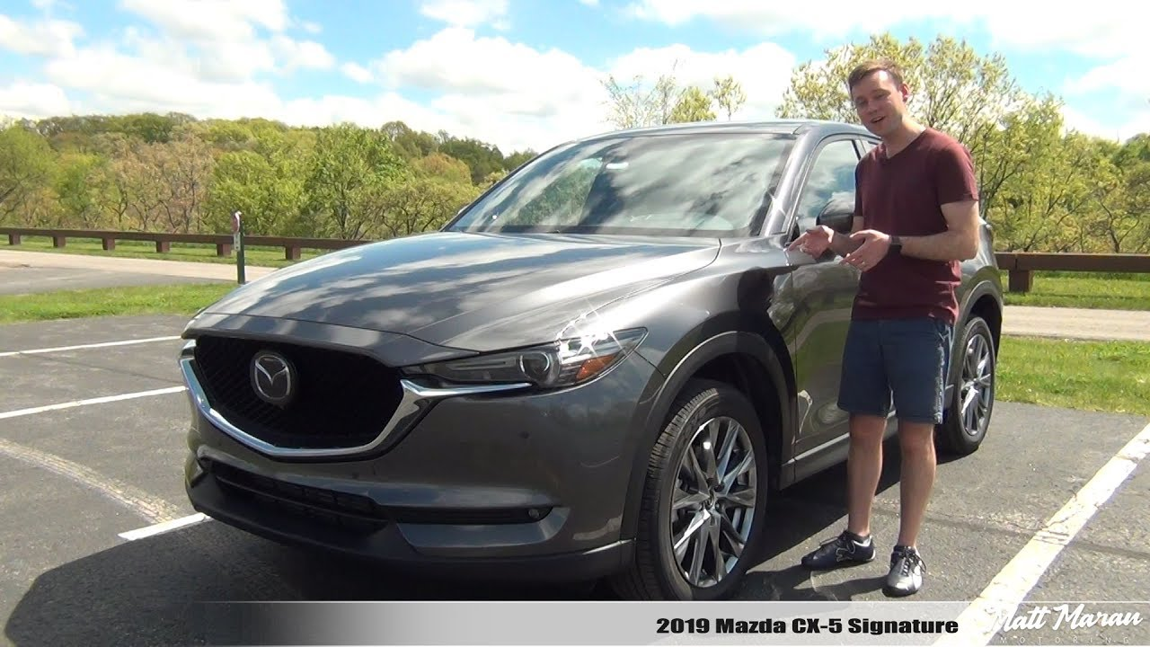 Review: 2019 Mazda CX-5 2.5T Signature