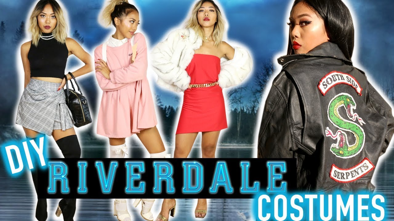 DIY RIVERDALE COSTUMES! DIY South Side Serpents Jacket u0026 Styling | FASHION | Nava Rose - YouTube