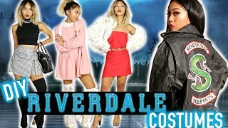 DIY RIVERDALE COSTUMES! DIY South Side Serpents Jacket & Styling | Nava Rose
