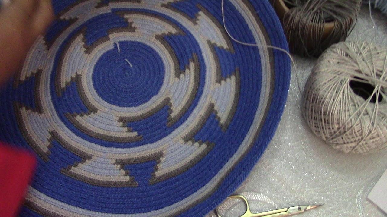 Wayuu Çanta Örüyoruz - Taban Yapımı