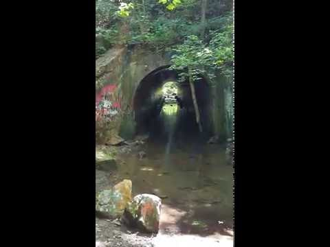 "The ""real"" Sensabaugh Tunnel in the Church Hill area just outside Kingsport, Tennessee."