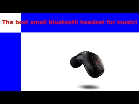 Whats the best small single ear bluetooth headset for music?