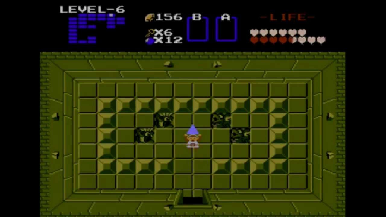 Let's Play The Legend of Zelda (NES) Walkthrough Part 6 (Level 6: Dragon)