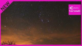 Actualité Météo : Pic d'étoiles filantes Orionides cette nuit