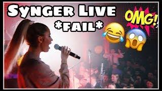 Vi Synger Sangen Vår Live På Konsert - ''Nå er det jul'' The sPlayers // Vlogmas #6