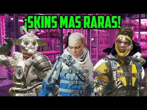 ¡TOP SKINS MÁS RARAS DE APEX LEGENDS!
