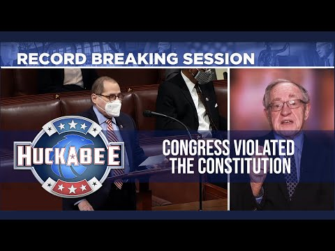 Congress VIOLATED The Constitution! Lawyer BREAKS DOWN Impeachment | Alan Dershowitz | Huckabee
