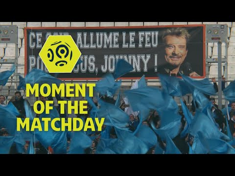 Ligue 1 Conforama pays tribute to French rock legend Johnny Hallyday : Week 17 / 2017-18