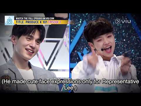 Lee Dong Wook Getting Hit On? (Produce X 101 EP 1 w/ Eng Subs) - YouTube